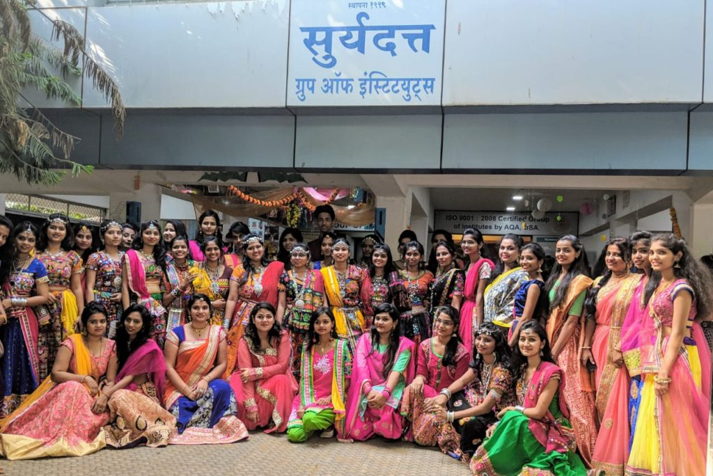 Unique Celebration Of Kojagiri Pourinma By Suryadatta Institute Of Fashion Technology Sift Students At Its Suryadatta Sadashiv Peth Campus Punekar News
