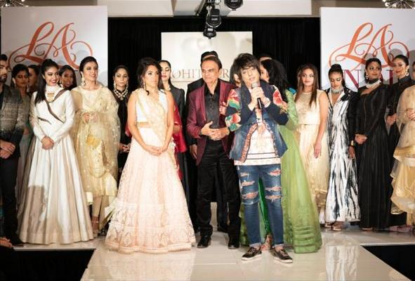 Designer Rohit Verma Who Has Always Surprised People With His Creative Unique Collections Wrapped Up The La India Fashion Week Punekar News