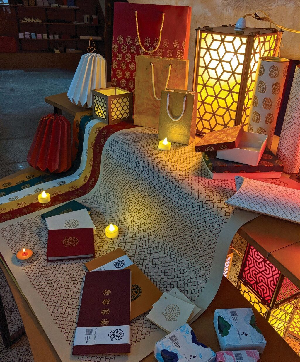 Handmade Paper Institute Pune reopens its doors with an eco-friendly Diwali exhibition