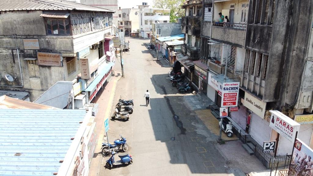 Khadki Bazaar area sealed