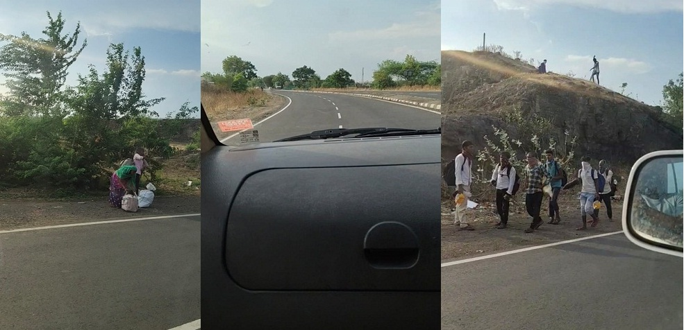 Pune to Chandrapur in lockdown