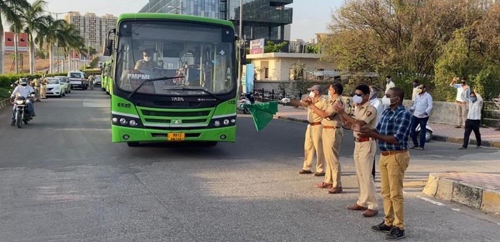 PMPML bus in Pune
