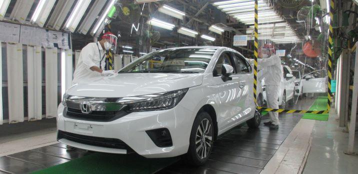 All New 5th Generation Honda City in India