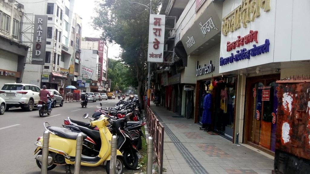 Historic Laxmi Road in Pune
