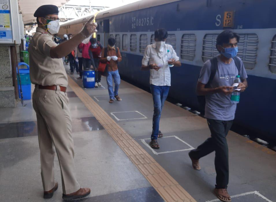 Pune Shramik Train