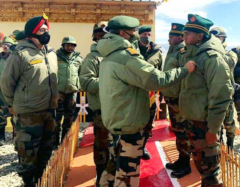 ARMY CHIEF VISITS EASTERN LADAKH