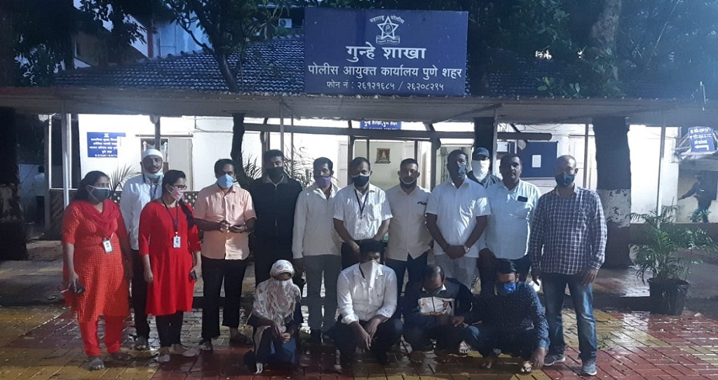 Pune Police Crime Branch Anti-Extortion Cell