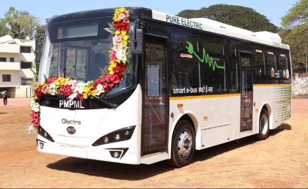 Pune Smart E Bus PMPML
