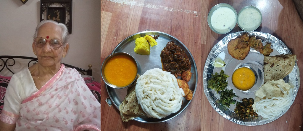 Granny mess pune for four customers