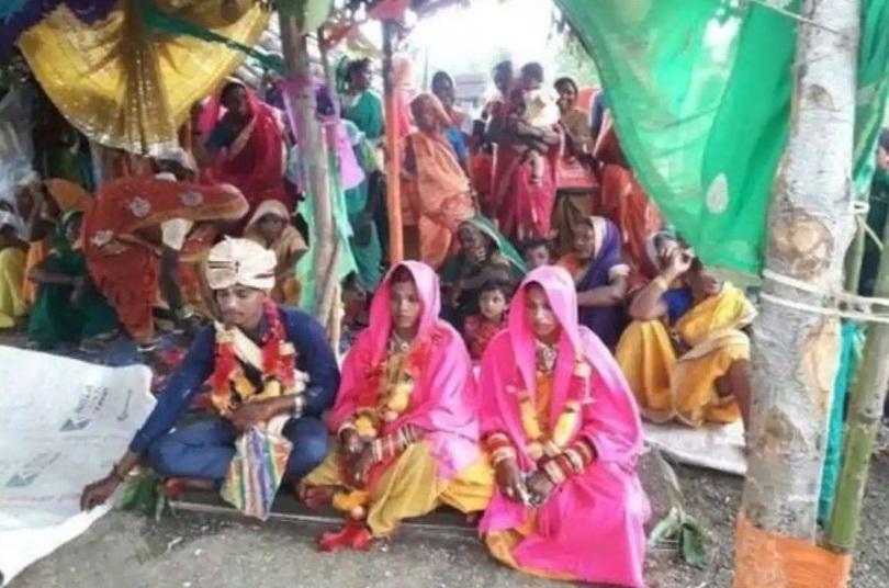 Man marries two women in same mandap