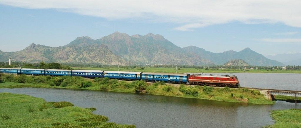 Nagercoil train rail