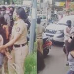 Pune: Irritated woman obstructs traffic on FC Road due to continuous honking by a car driver