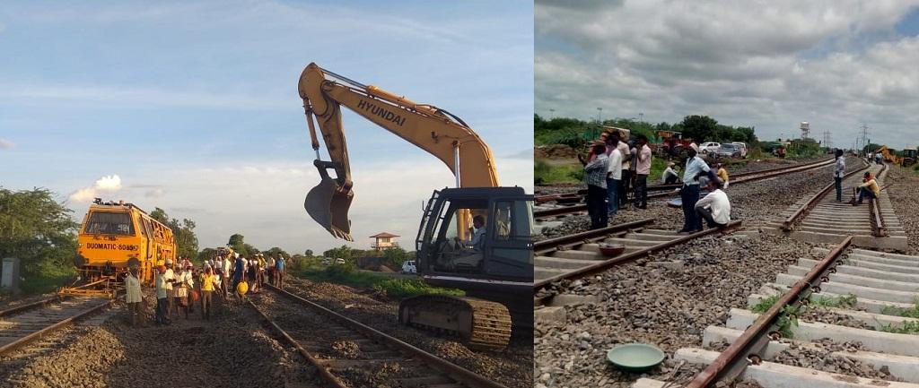 Major Yard Remodelling work at Hotgi