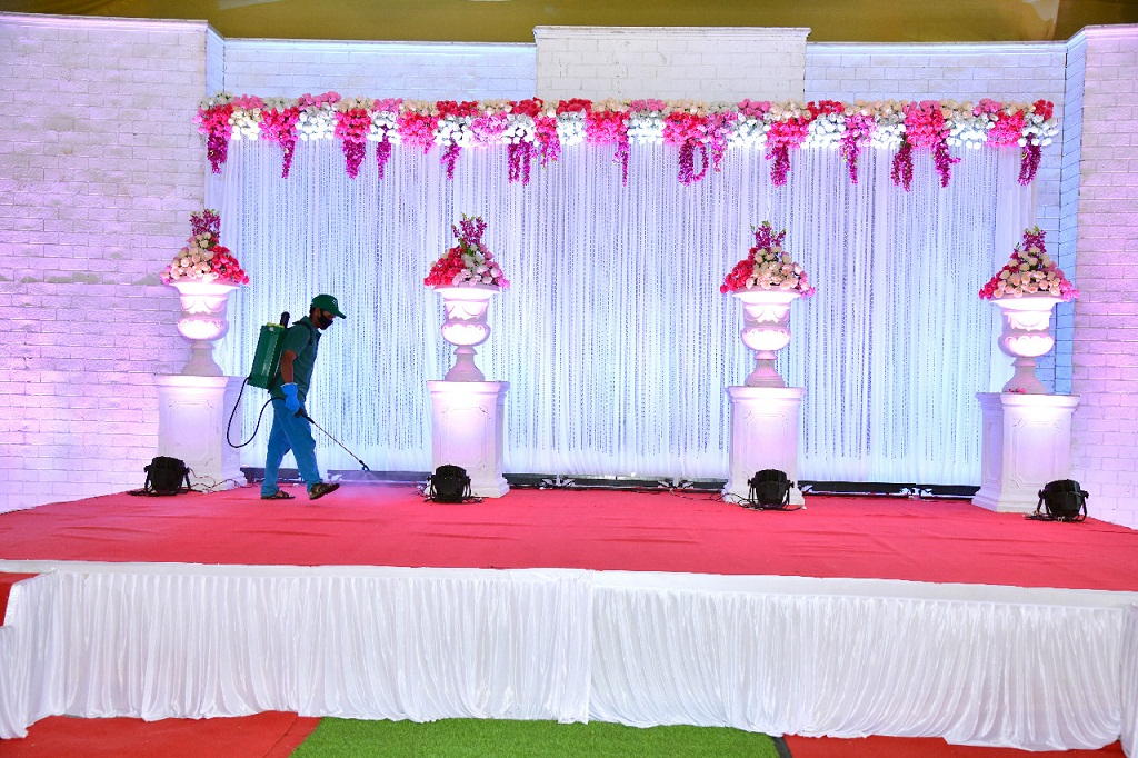 marriage lawn hall
