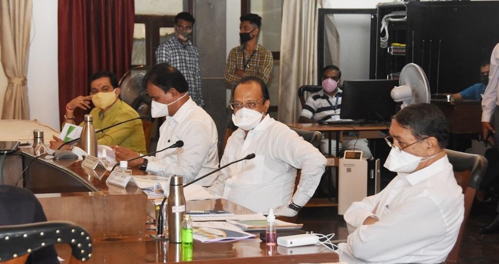 Ajit Pawar curfew meeting