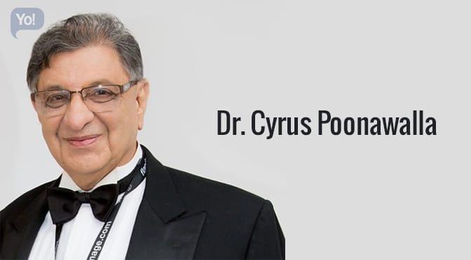 Dr Cyrus Poonawalla