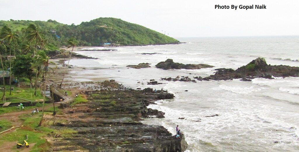 Miramar beach in Goa