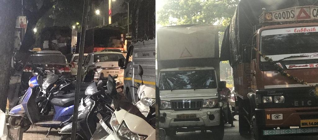 Bhawani peth traffic issue