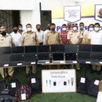 Pimpri Chinchwad Crime Branch Arrests Car Thief, Crack 13 Cases
