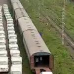 Central Railway Mumbai Division Transports Pickup vehicles from Kalamboli to Benapole, Bangladesh
