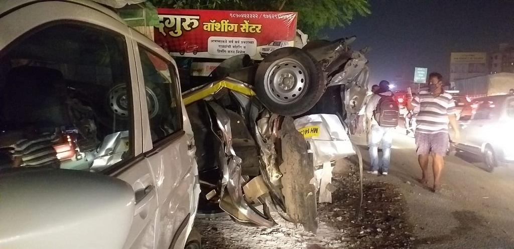 navale bridge Pune accident
