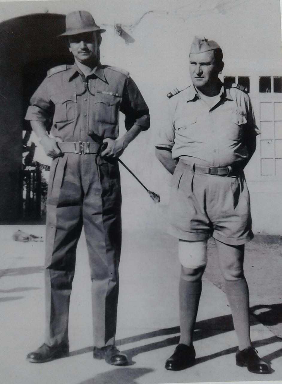 The Victor stands tall: 19 Dec 1961. Major Antonio Jose Da Costa Pinto, Portuguese Governor of Daman surrendered to Lt. Col SJS Bhonsale, Commanding Officer 1st Maratha Light Infantry.