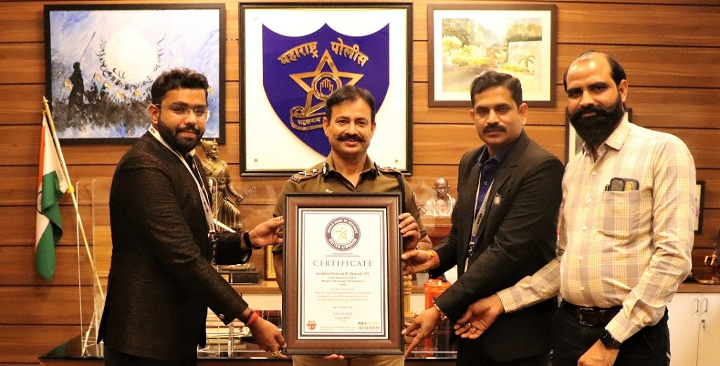 krishna prakash ips world record